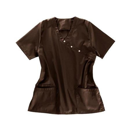 KASACK 941 VON BEB / FARBE: CHOCOLATE BROWN - CLINIC DRESS ONLINE SHOP - BEB KASACK - BEB BERUFSBEKLEIDUNG - BEB KASACKS - BEB KITTEL - BEB ONLINESHOP